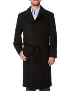 Coat Harvard Charcoal Cashmere