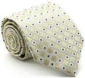 Checkered Diamond Ties Beige