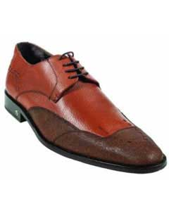 Skin Cognac Dress Shoe