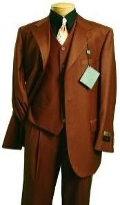 Fashion three piece 2 button suit in Super 150s Luxurious Wool