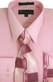 Milano Cotton Shirt Moda Classic with Ties