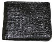 Mens Genuine Exotic Animal Skin Wallet