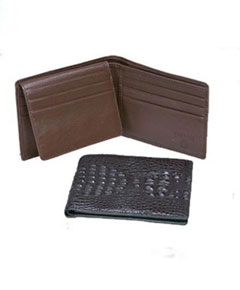 Hornback Crocodile Billfold