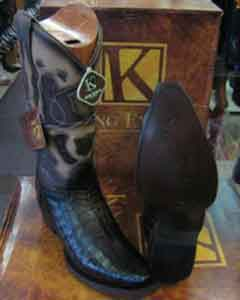 Genunie Crocodile King Exotic Cowboy Style By los altos botas For