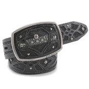 Exotic Black Belt Authentic Stingray