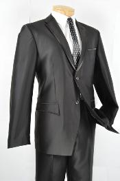 Slim Fit Trimmed Two Tone Blazer/affordable suit online sale/Tuxedo - Black
