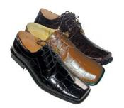 Dress Shoes Black/White/Brown