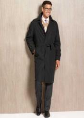 Dress Coat Winter trench coat Rain Coat black