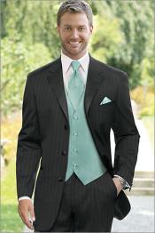 Tuxedo Suit Black 7