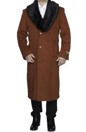 Rust  3 Button  Dress Coat now on Sale