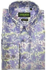 High Collar Jacquard Mens