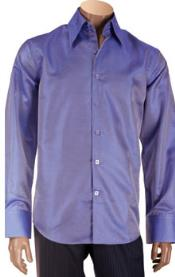 Microfiber Mens Dress Shirt