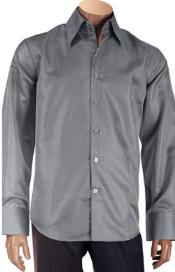 Collar Mens Dress Shirt