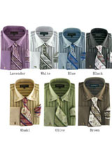 Classic Strip Dress Shirt