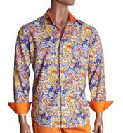 Print Mens Dress Shirt