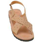 Exotic Skin Sandals in ostrich World Best Alligator ~ Gator Skin