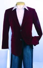 Fashion Sport Coat Wine