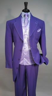 Mens Four Button Vested Suit Jacket With Fashionable Vest With Matching Tie