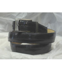 Authentic Gray Eel Belt