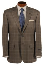 Mens Sport CoatBig & Tall In Silk & Wool Blend Grey