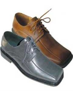 Dress Shoes Available in Gray and Brown Colors
