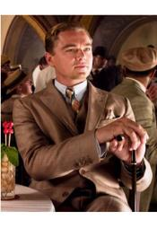 Mens Great Gatsby Brown Suit