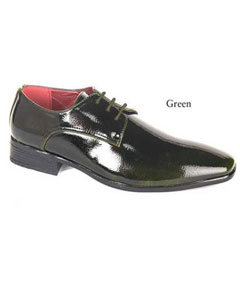 Green dress shoes