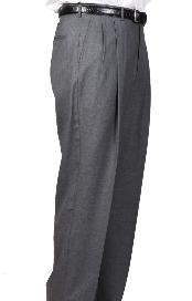 Somerset Double-Pleated Slacks / Dress Pants Trouser Harwick Made In USA