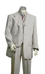 Vested Unique Exclusive Fashion Suit Grey