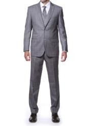 Lapel Side Vent Grey