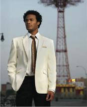 ~ Cream ~ Off White Tuxedo Suit Jacket Blazer With Option
