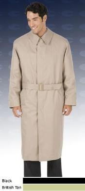 Dress Coat 46 Inch Vent Fly Front Coat With Split Raglan