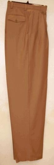 rise big leg slacks Camel ~ Khaki ~ Tan Wide Leg