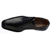 Ferrini Handcrafted French Calf Lace Up Black/Brown