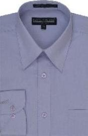 Lavender Mens Dress Cheap Priced Shirt Online Sale