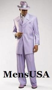 MUL4 Beautiful Mens Lavender Fashion Dress With Nice Cut
