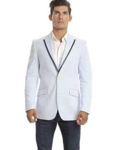 Seersucker Suits Summer Suit 3 Piece Suits Mens Suits