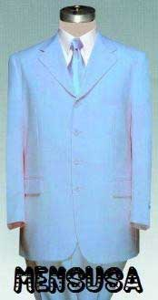 Beautiful Mens Light Blue ~ Sky Baby Blue Pastel Dress With