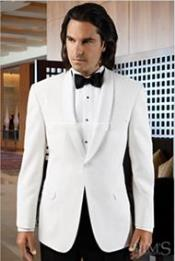 and Tall or Extra Long Tuxedo Mirage No-Buttons Wedding / Prom Formalwear Mandarin Tuxedo Jacket  -