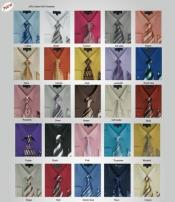 Moda  w/ Matching Tie And Handkerchief Set Style Multi-Color Mens