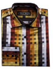 Multi Stripe Shirts With