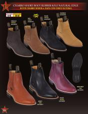Mens Charro Napa Leather/Suede