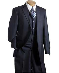Vested Navy TNT Mens