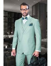 Piece Sage Notch Lapel
