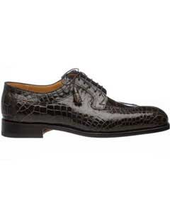 Gator Skin Belly Split Toe Italian Style Shoes