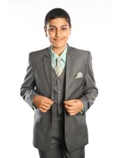 Dark Green Boys ~ Children ~ Kids Suits Perfect for toddler