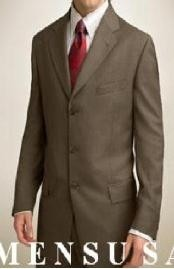 weight Expensive full canvas quality Series Dark Olive Green Business Suit