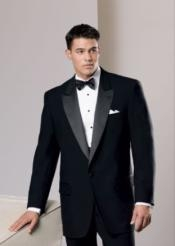 One Button Black Buy cheap tuxedos for sale Polyester Blend