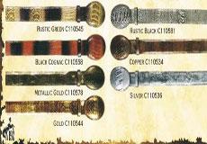 "Genuine Ostrich Leg Western Cowboy Belt 15"" Width Diff Colors/Sizes"