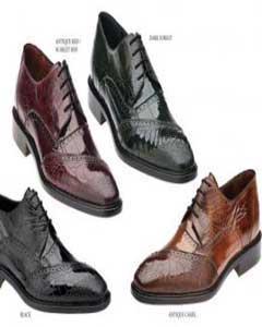 Genuine Eel / Ostrich Leg Dress Shoes Black Antique Red/Scarlet Red Dark Forest Antique Camel ~ Khaki